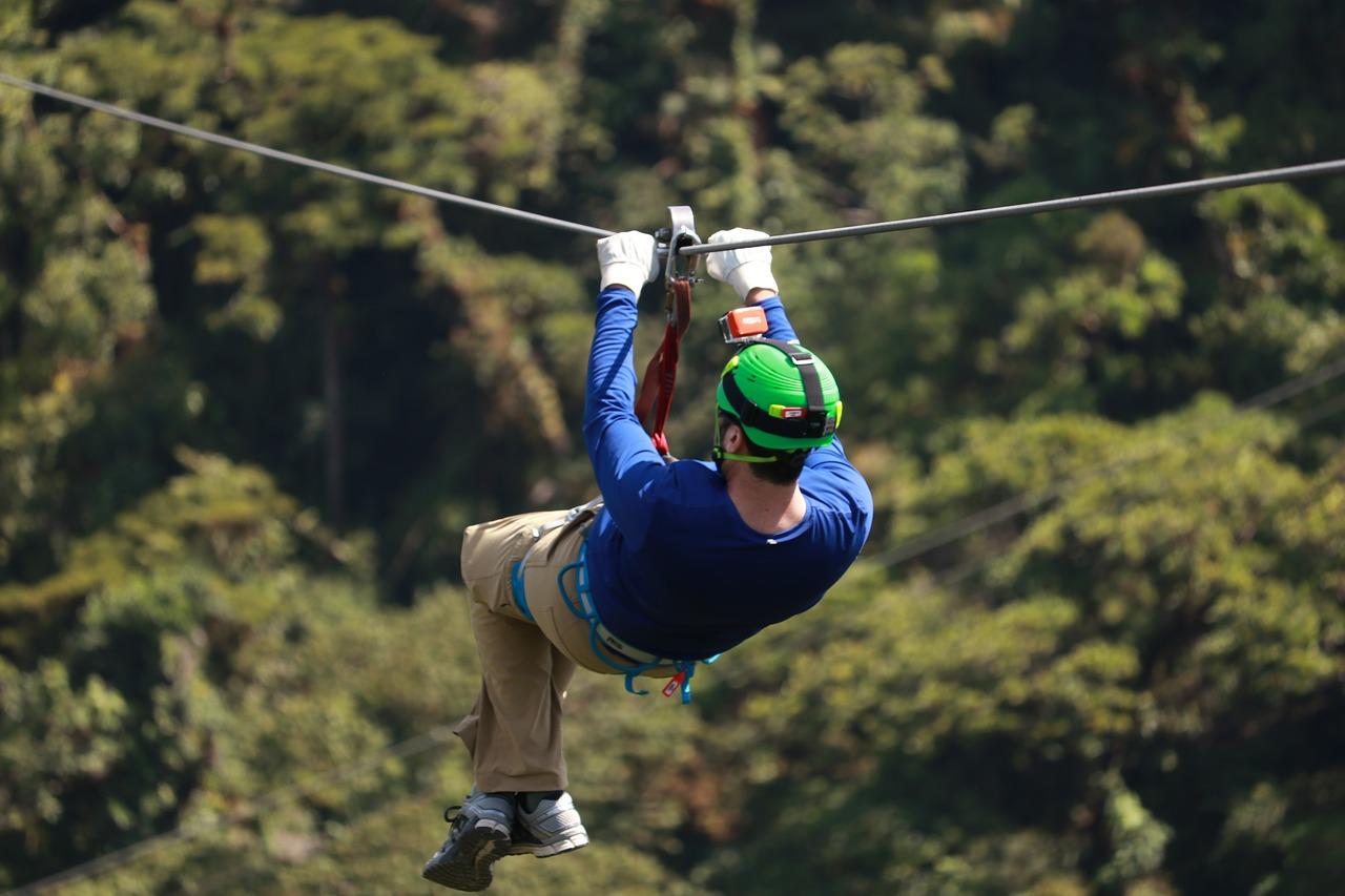 ziplining is but one big bear lake outdoor activities